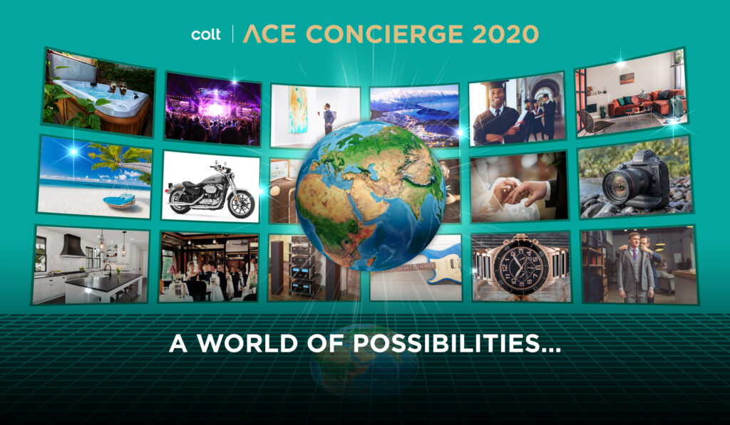 Virtual Concierge with complementary website.