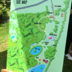 red e2 Summer Festival Corporate Event Map