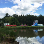 red e2 Summer Festival Inflatable Assault Course