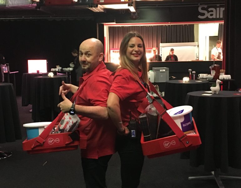 Virgin Media staff as programme sellers
