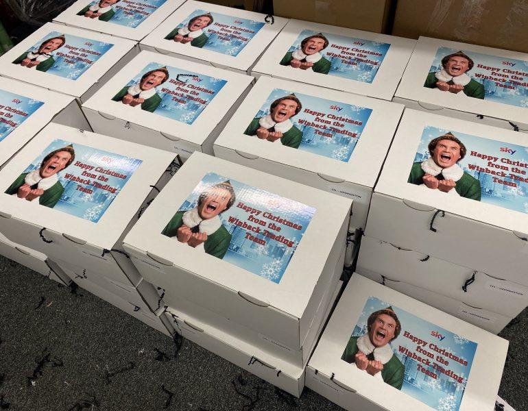 Sky Christmas Team Share Box Example